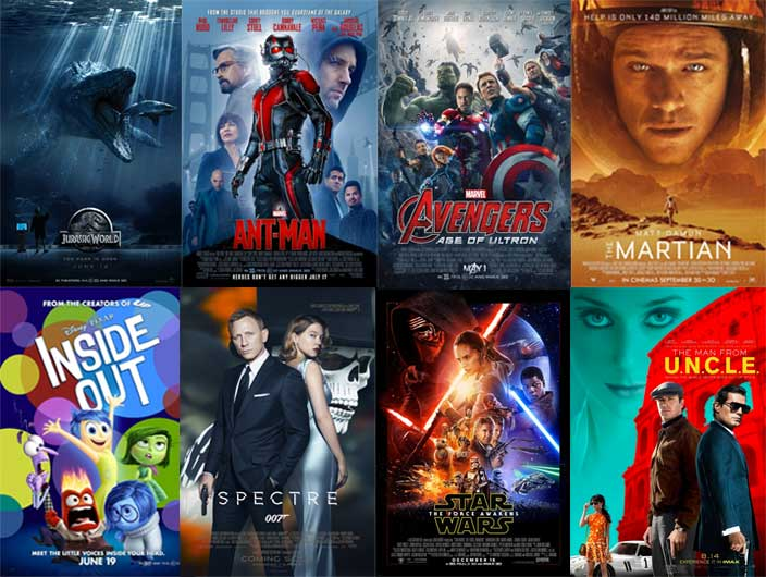 Choose your best movie of 2015