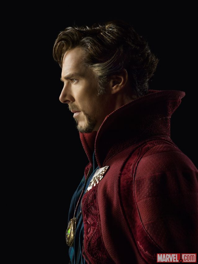 Marvel's Dr Strange Benedict Cumberbatch First Look 1