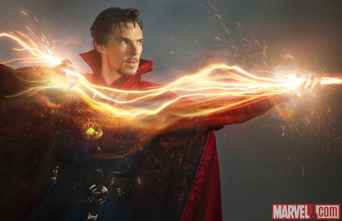 Benedict Cumberbatch in a first-look Marvel's Dr Strange