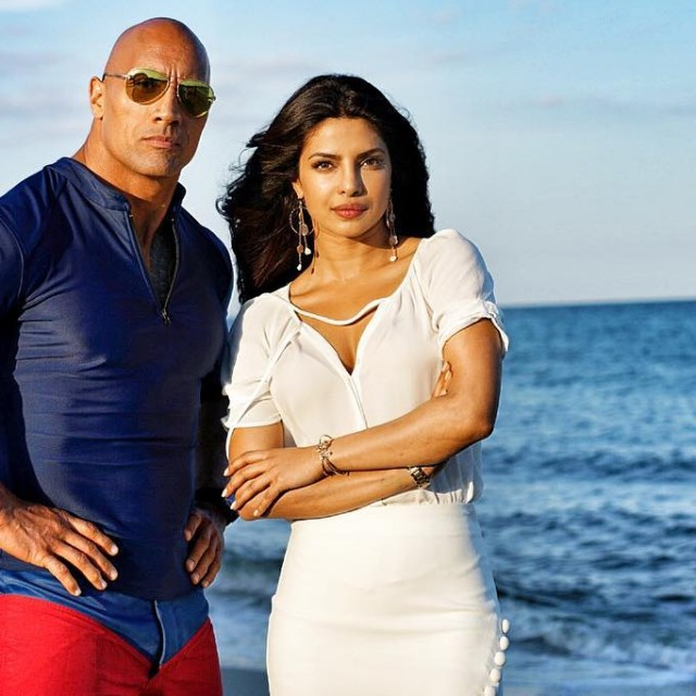 Baywatch Movie 2017 - Dwayne Johnson The Rock - Priyanka Chopra