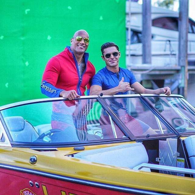 Baywatch Movie 2017 - Dwayne Johnson The Rock - Zac Efron