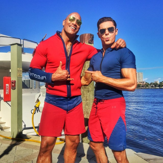 Baywatch Movie 2017 - Dwayne Johnson The Rock - Zac Efron - Lifeguard