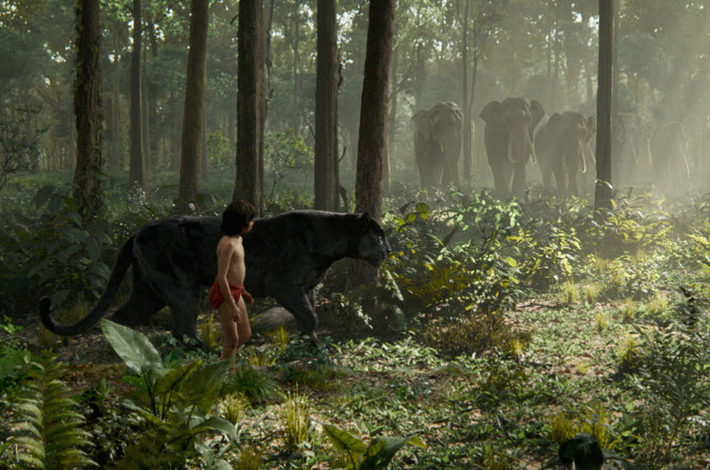 The Jungle Book remained in first place in it's second weekend at Box Office