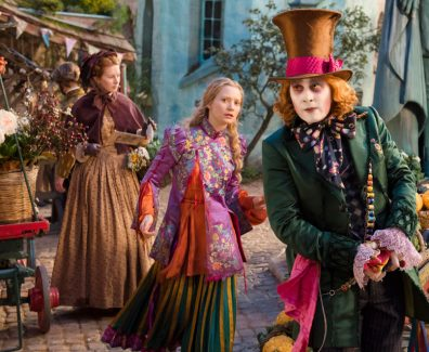 Alice Through The Looking Glass Movie Trailer 2016