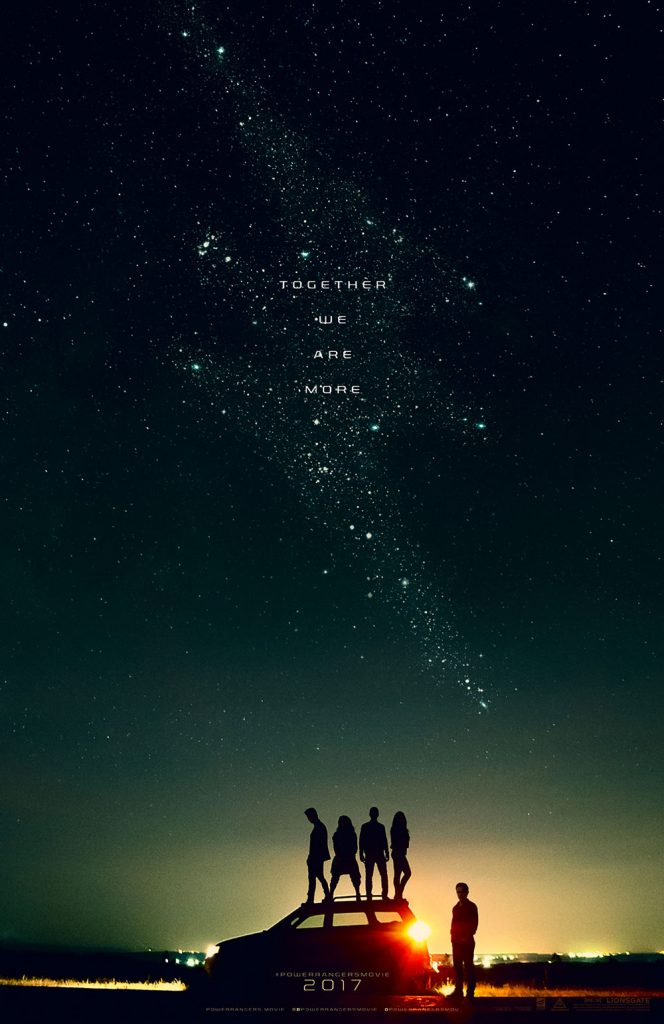 Power Rangers Movie Poster 2017