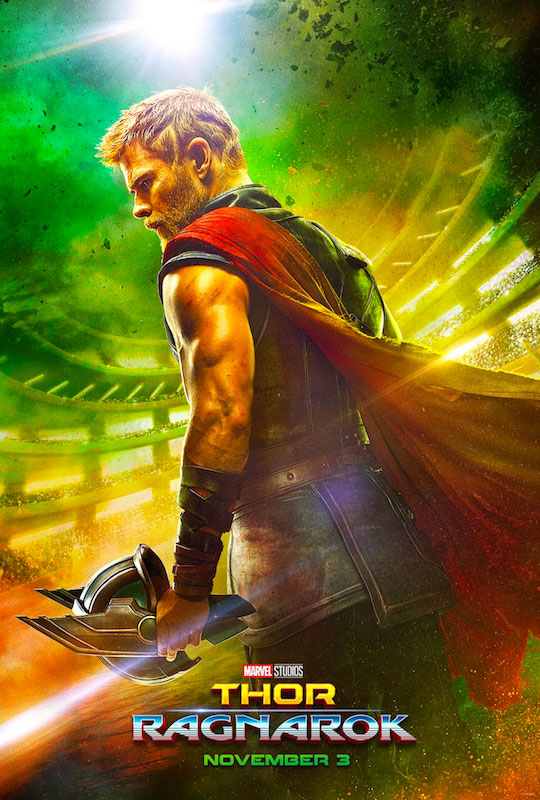 Thor Ragnarok Movie Poster 2017