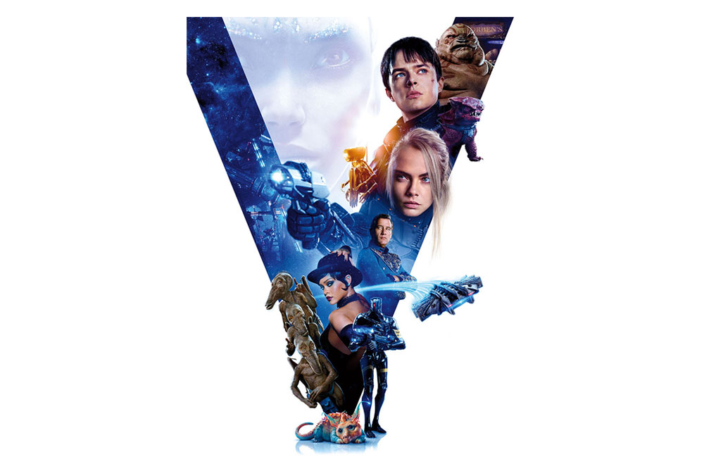 Valerian And The City Of A Thousand Planets 2017 Movie Trailer 3 Trailer List