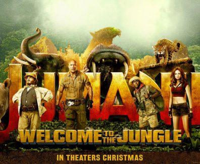 Jumanji Welcome To The Jungle Movie Trailer 2017