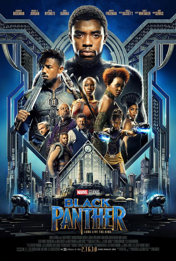 Black Panther Movie Poster 2018