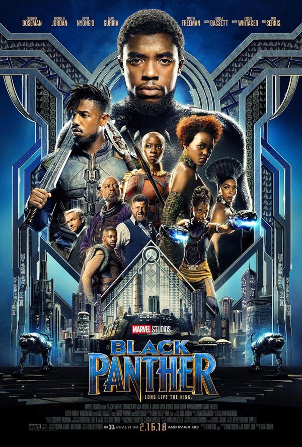 Black Panther Movie Poster 2018