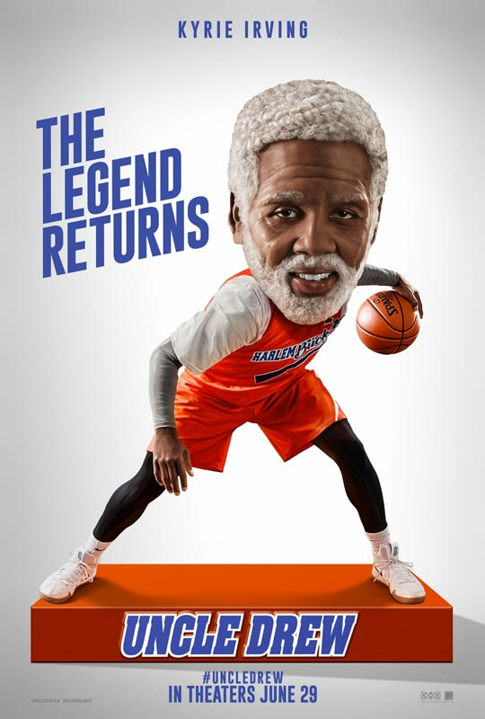 Uncle Drew Movie Poster 2018 - Kyrie Irving