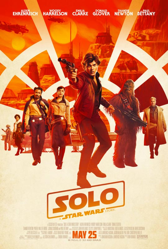Solo A Star Wars Story Movie Poster 2018