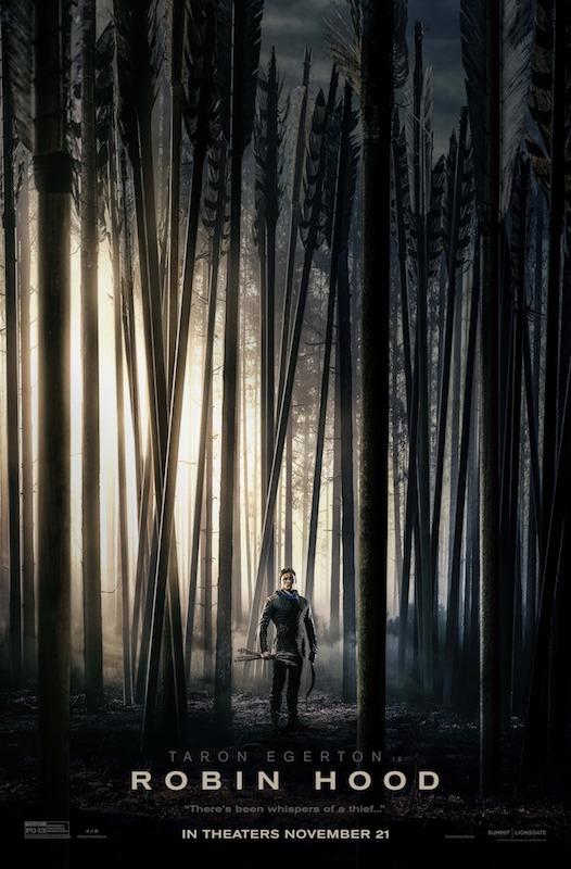 Robin Hood Movie Poster 2018 - Taron Egerton - Jamie Foxx