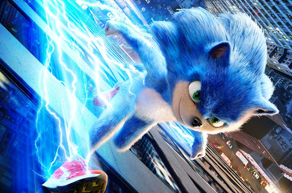 Movie Poster 2019: Sonic The Hedgehog (2019)