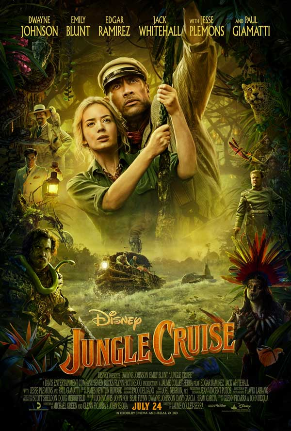 Jungle Cruise Poster 2020
