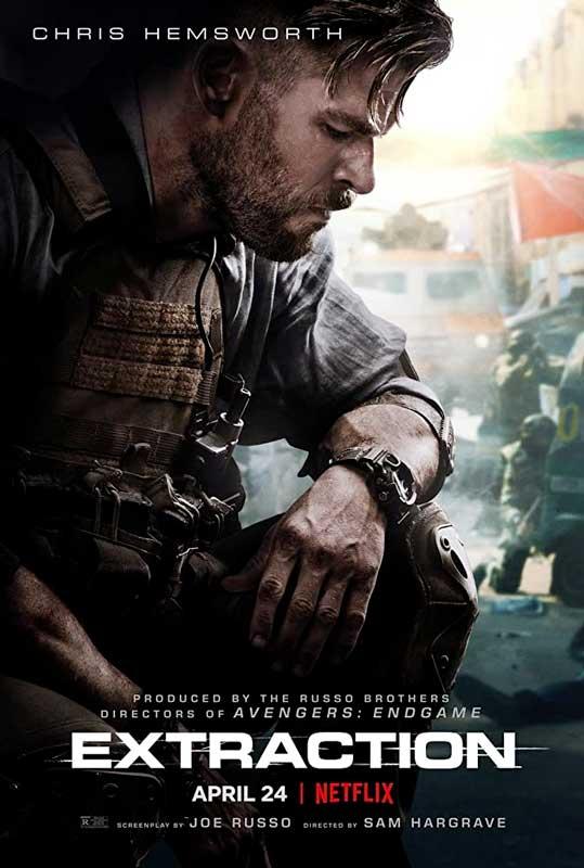 Extraction Poster 2020 Netflix