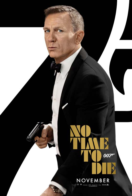 No Time to Die Poster 2020