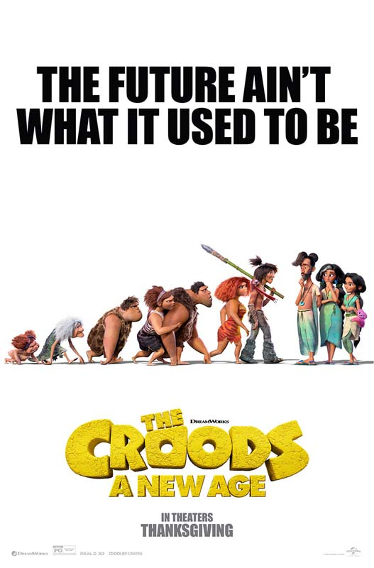 The Croods A New Age Poster 2020