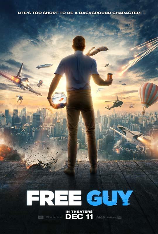 Free Guy Poster 2020