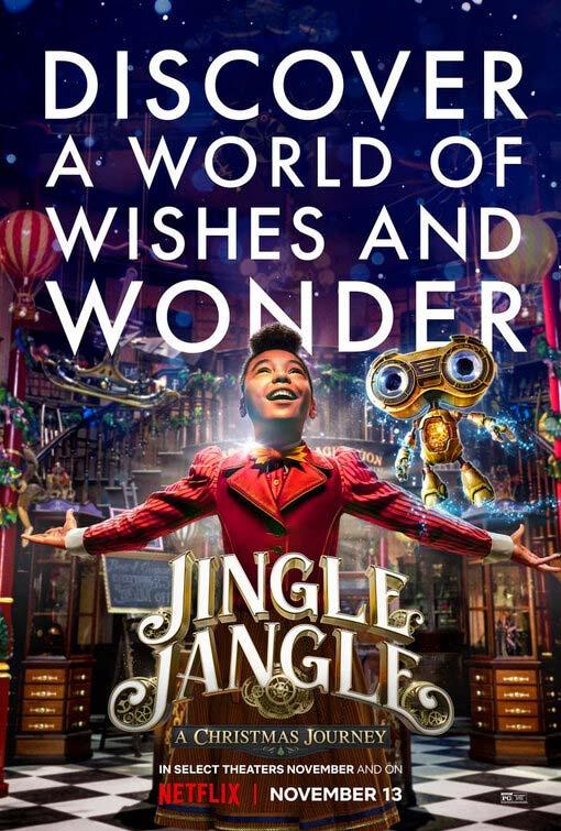 Jingle Jangle A Christmas Journey Poster 2020