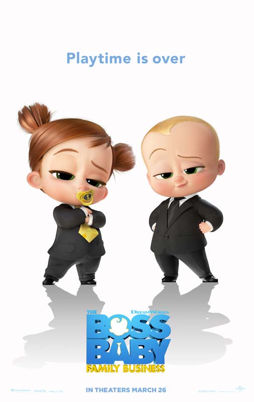 The Boss Baby Family Business Poster 2021