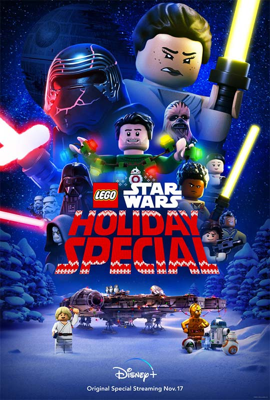 The LEGO Star Wars Holiday Special Poster 2020