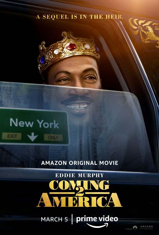 Coming 2 America Poster 2021