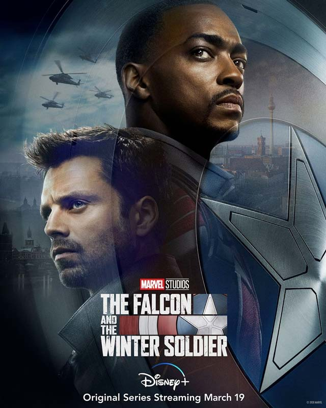 The Falcon and the Winter Soldier Poster 2021