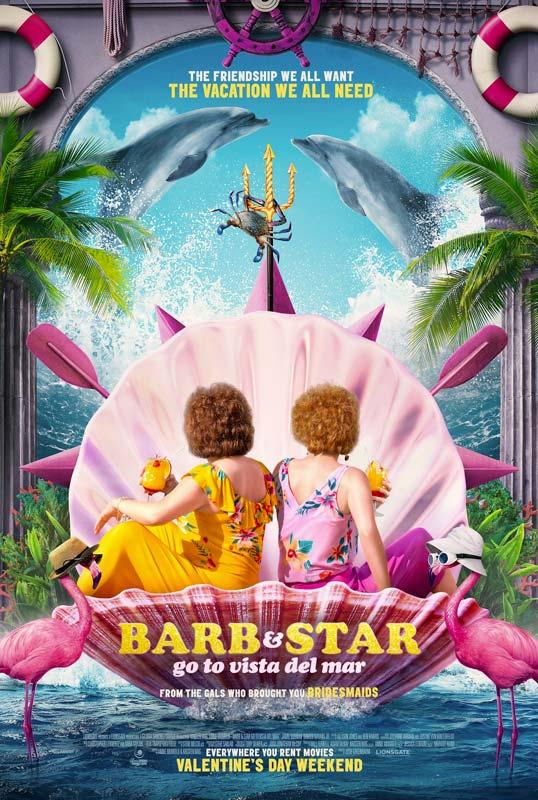 Barb Star Go To Vista Del Mar Poster 2021