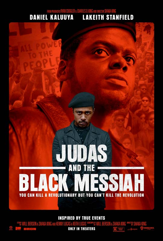 Judas and the Black Messiah Poster 2021