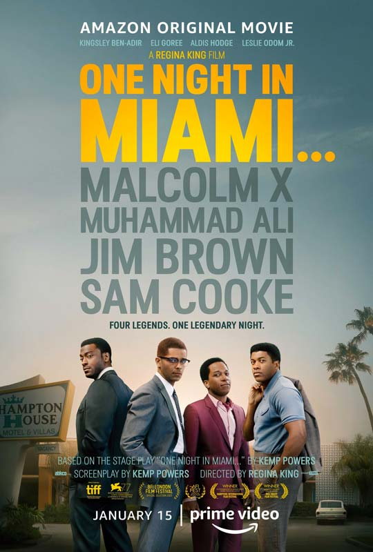 One Night in Miami Poster 2021