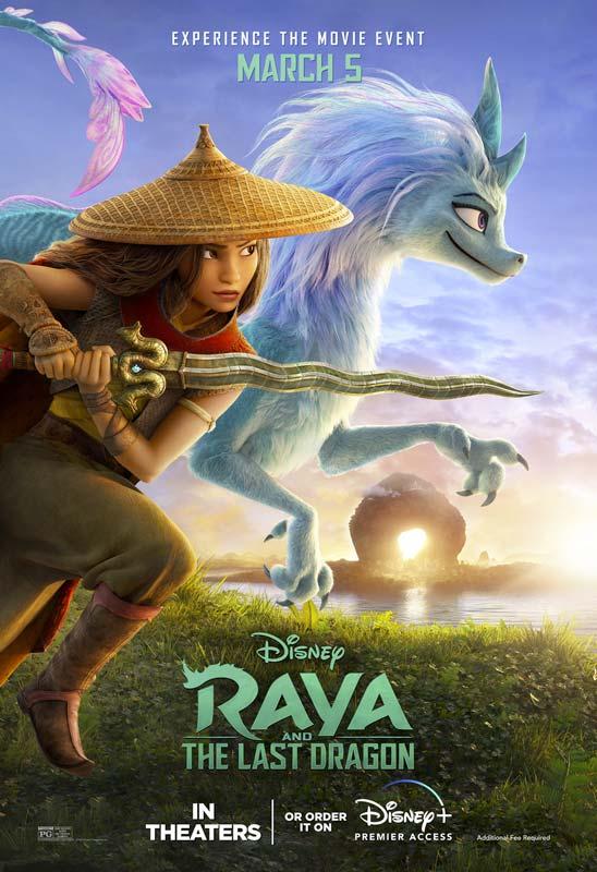Raya and the Last Dragon Poster 2 2021