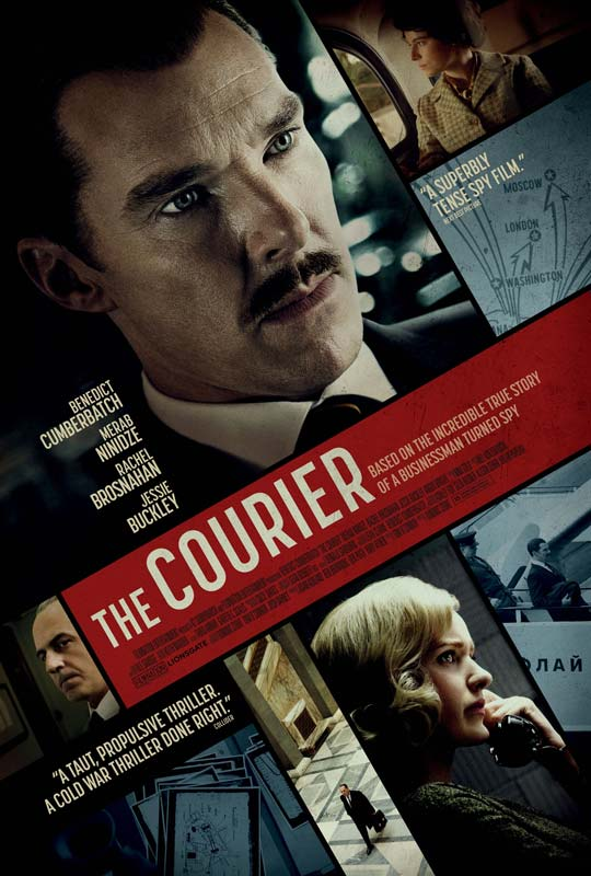 The Courier Poster 2021