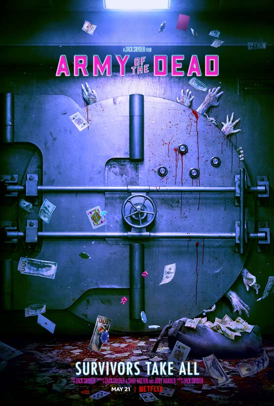 Army of the Dead Poster 2021