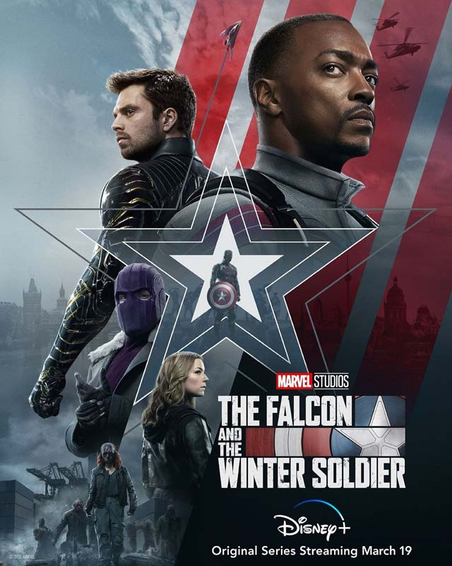 The Falcon and the Winter Soldier Poster 2021 2