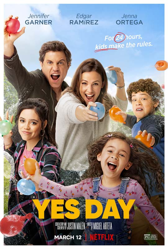 Yes Day Poster 2021