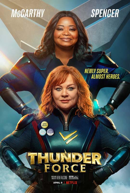 Thunder Force Poster 2021