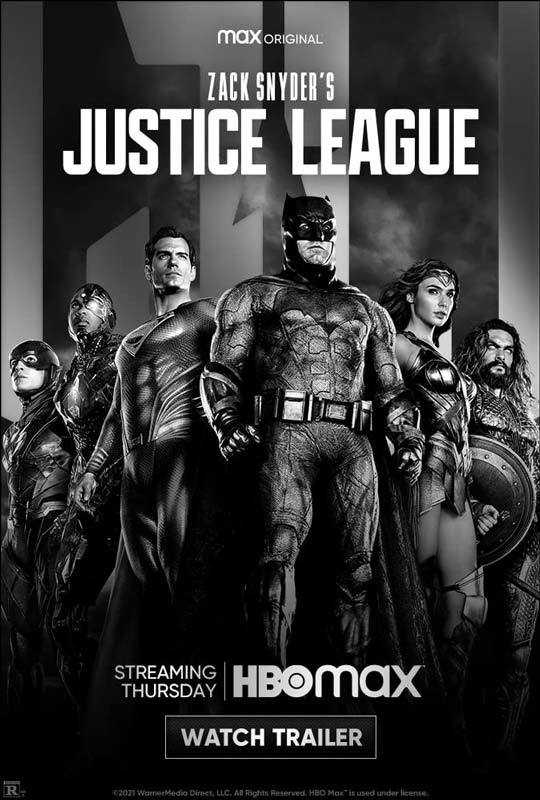 Zack Snyder's Justice League Poster Promise 2021
