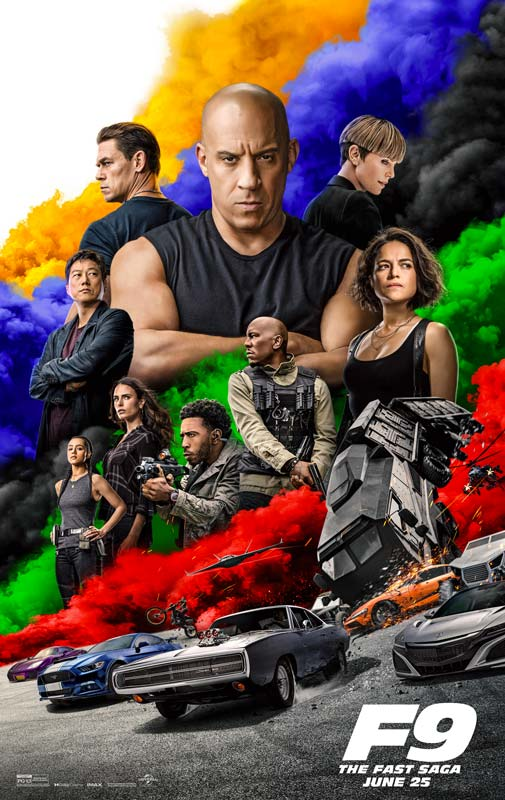 Fast Furious 9 Poster 3 2021