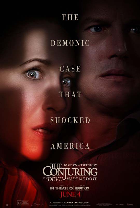 The Conjuring The Devil Made Me Do It Poster 2021