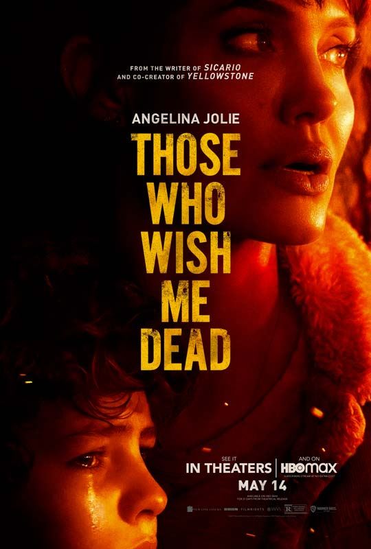 Those Who Wish Me Dead Poster 2021