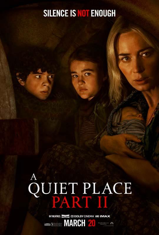 A Quiet Place Part 2 Poster 2021 2