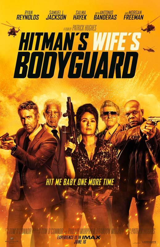 Hitman's Wife's Bodyguard Poster 2 2021