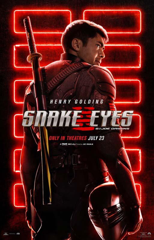 Snake Eyes G.I. Joe Origins Poster 2021